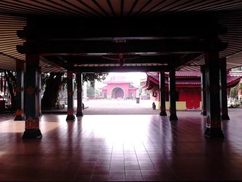 Nuansa multikultur di klenteng Sam Poo Kong