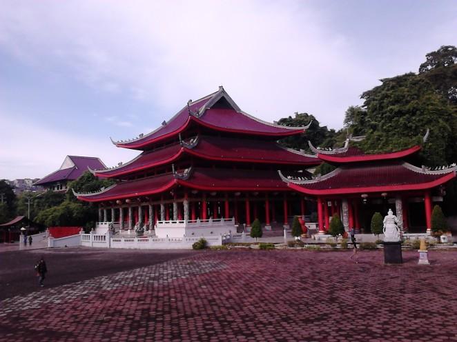 Cakrawala terbuka di Klenteng Sam Poo Kong