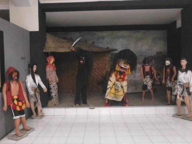Koleksi wayang Museum Ranggawarsita
