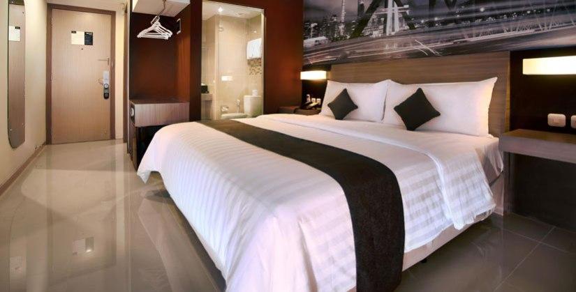 Kamar Single Standard Hotel Neo Candi, Semarang [sumber: neohotels.com]