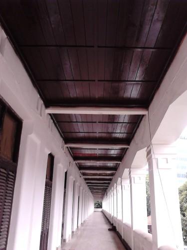 Koridor lantai 2 Gedung B