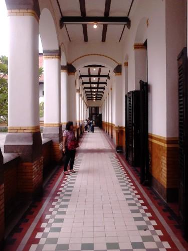 Koridor yang cantik :)