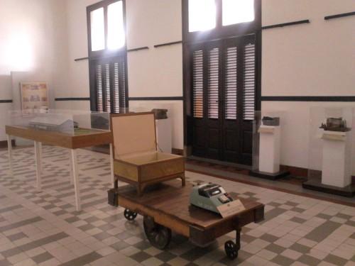 Koleksi-koleksi bersejarah Lawang Sewu