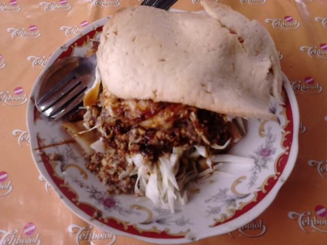 Tahu Gimbal, kuliner khas Semarang