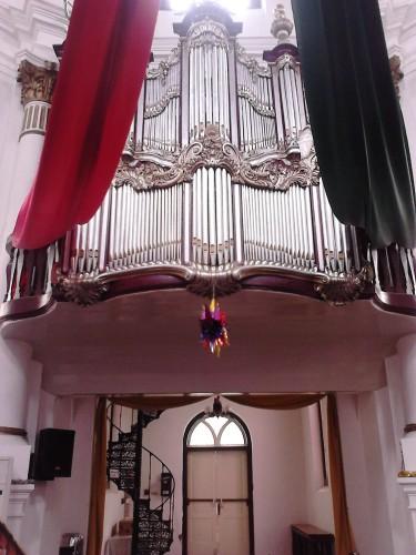 Ornamen di dalam Gereja Blenduk