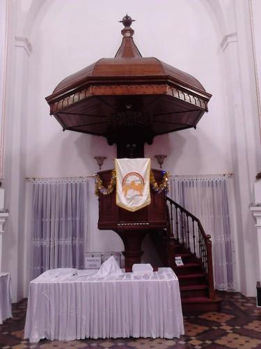 Altar - Gereja Blenduk