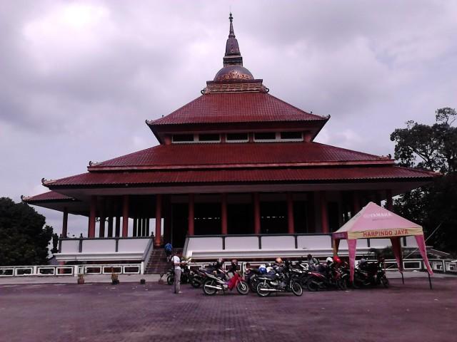Bangunan Dhamansala, Vihara Buddhagaya