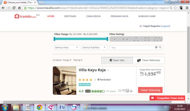 Villa Kayu Raja - Travelio.com