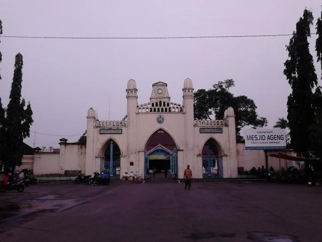 Memasuki Masjid Agung Surakarta