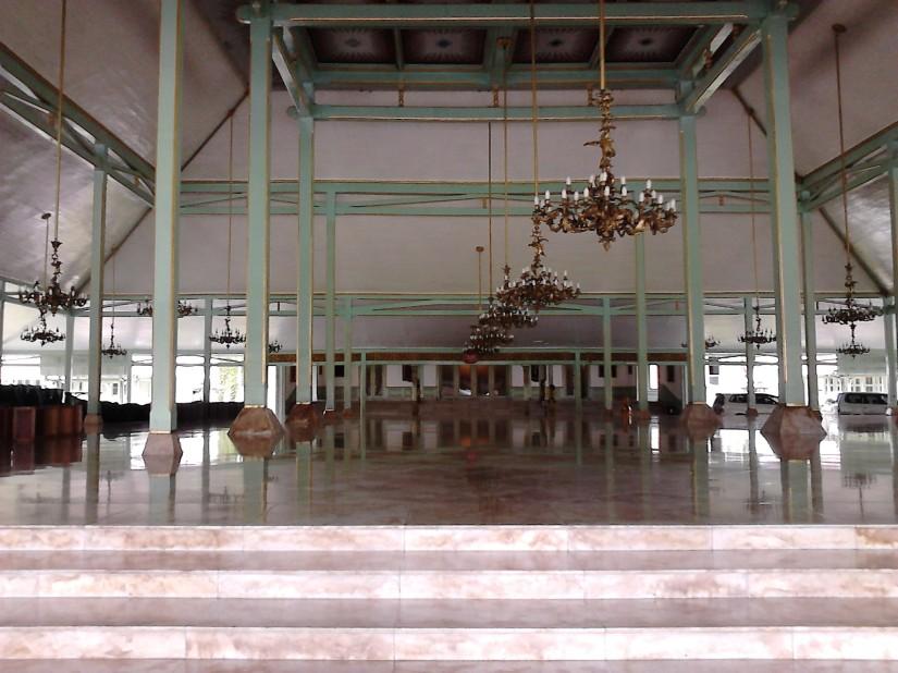 Interior Pendopo Agung Pura Mangkunegaran