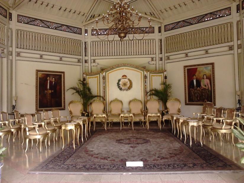 Ruang Pertemuan Pura Mangkunegaran, Solo