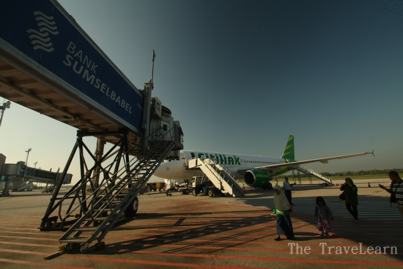 A new experience with Citilink today!