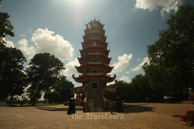 The 9 storey pagoda of Pulau Kemaro