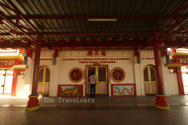 Unfortunately, the shrine was closed | Sayang, klentengnya tutup