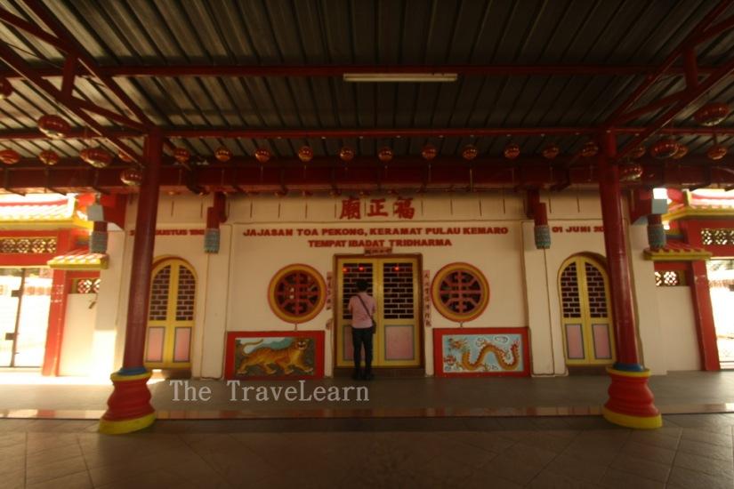 Unfortunately, the shrine was closed | Sayang, klentengnya tutup