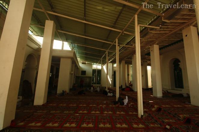 Additional prayer hall at Great Mosque of Palembang