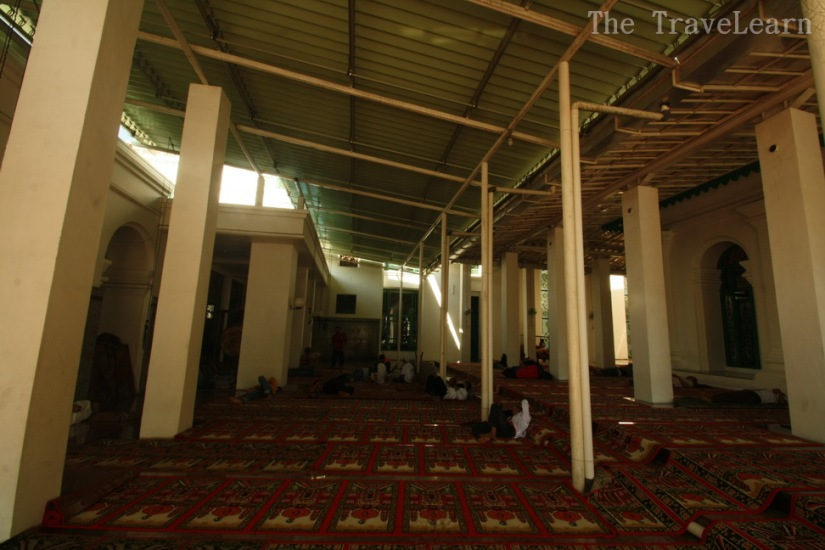 Additional prayer hall at Great Mosque of Palembang
