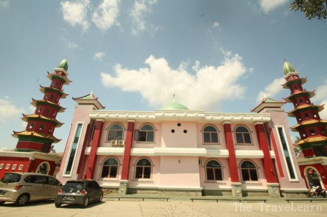 Mosque of Cheng Ho (Masjid Cheng Ho) Palembang