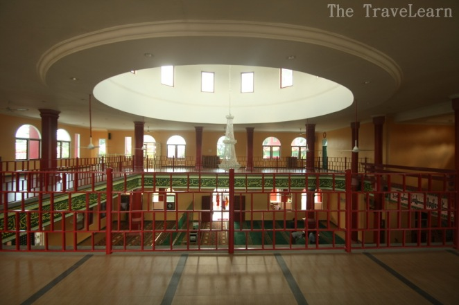The second floor of the mosque | Masjid Cheng Ho