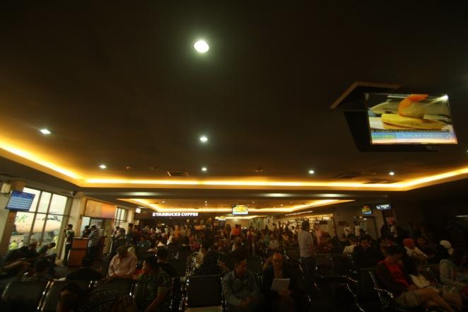Boarding room, Halim Perdana Kusuma Airport - Jakarta