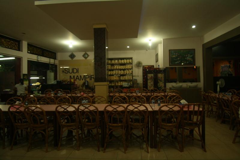 Interior Warung Pempek Sudi Mampir