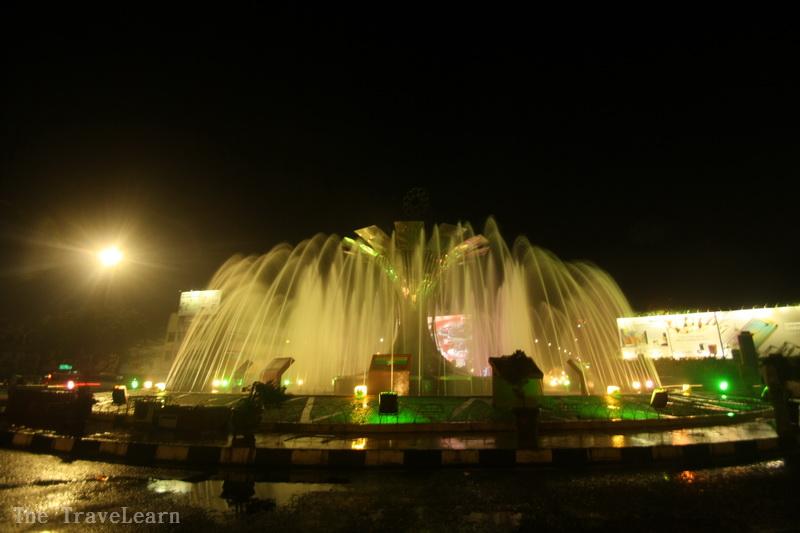 Air Mancur PON, Palembang