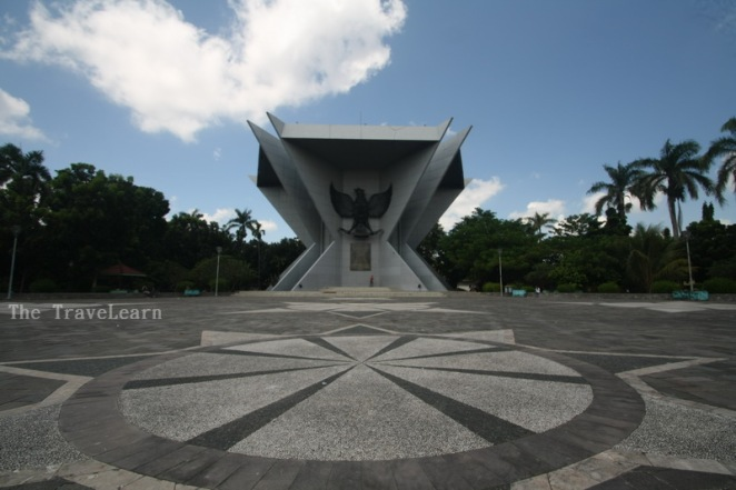 Tampak depan MONPERA Palembang