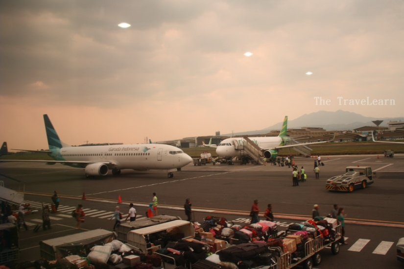 Planes waiting for flying