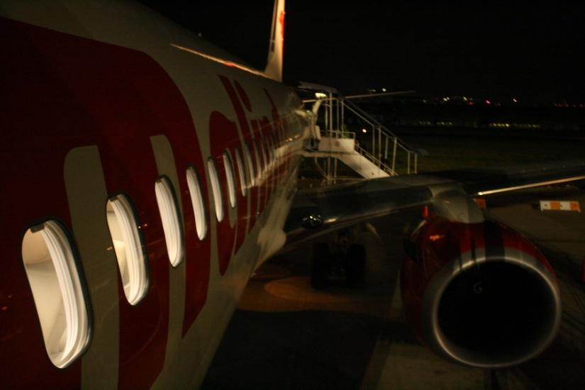 Badan pesawat Malindo Air