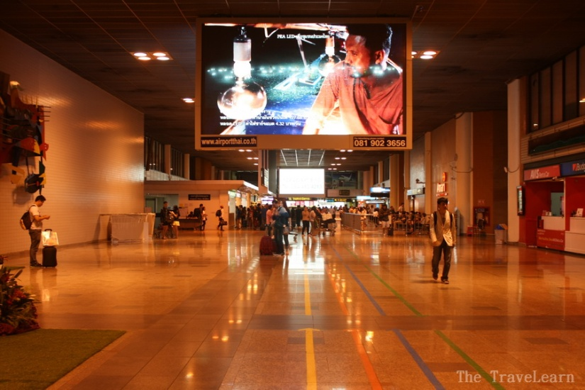 Arrival Hall - Don Mueang Airport