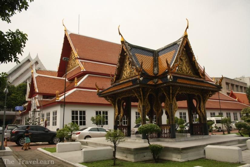 Sivamokhaphiman Hall dan Long Song Pavilion - Bangkok National Museum