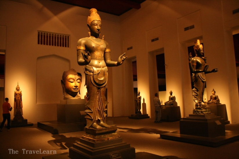 Collections of Gallery of Thai History - Bangkok National Museum