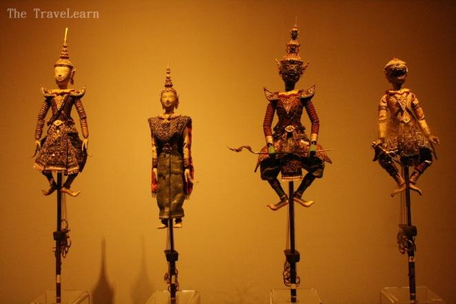 Thai puppets / wayang - Bangkok National Museum