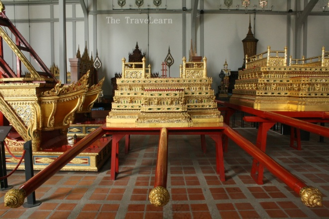 Royal Funeral Chariots, Bangkok National Museum