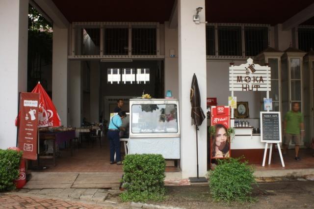 Warung-warung sederhana di Bangkok National Museum