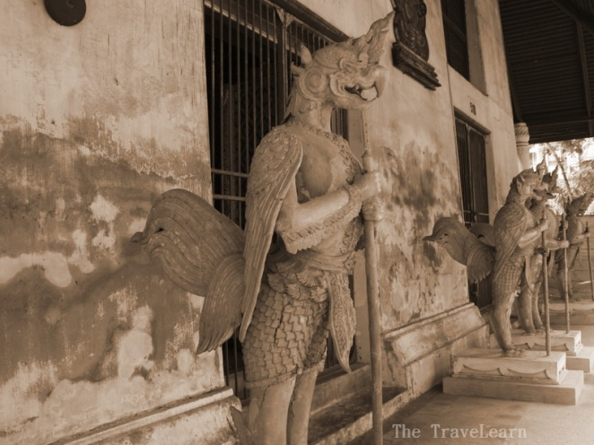 Abandoned sculptures, Bangkok National Museum