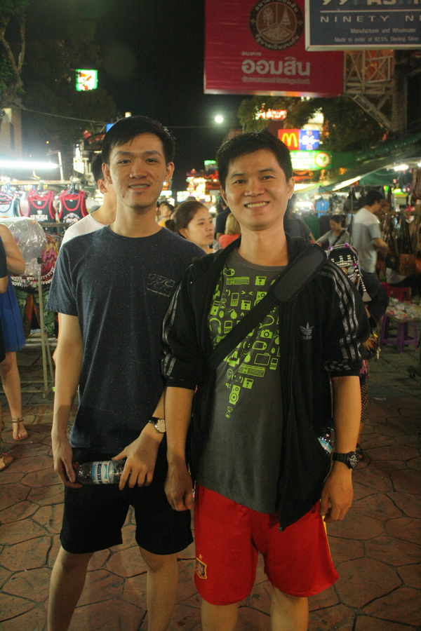 Dicky and koh Donny, travel mates