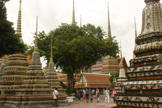 Chedis at Wat Pho, Bangkok