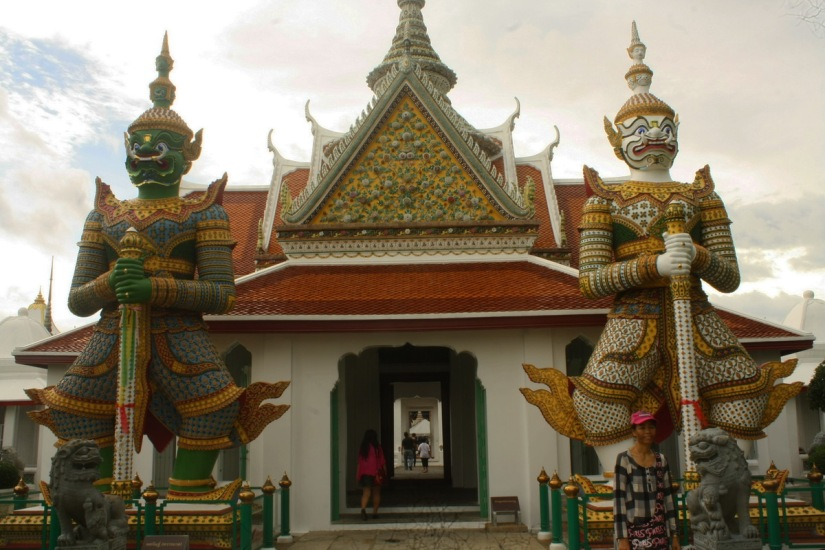 Approaching Wat Arun, Bangkok
