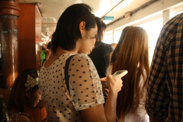 Khun ini mengingatkanku dengan tokoh khun Li di film Bangkok Traffic Love Story