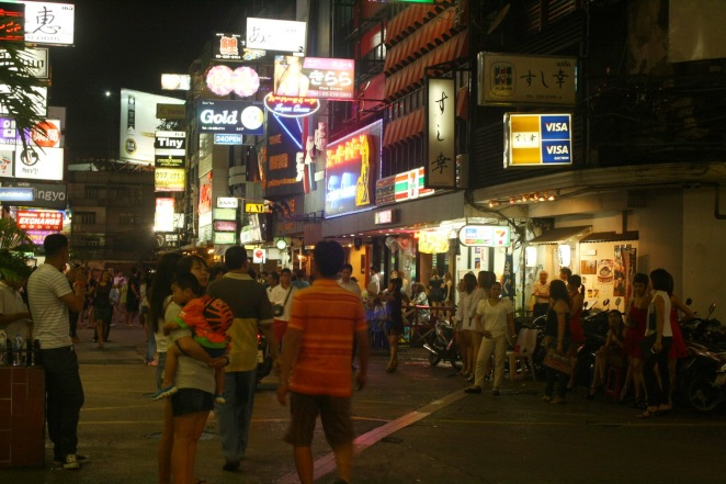 Crowd at Patpong Night Market