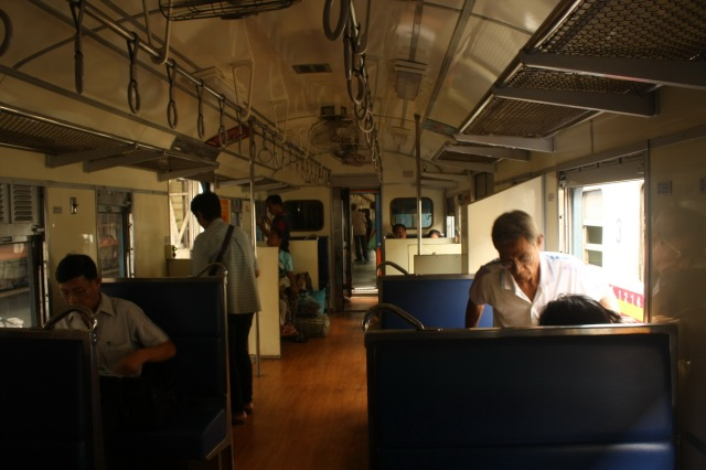 Our economic train to Ayutthaya
