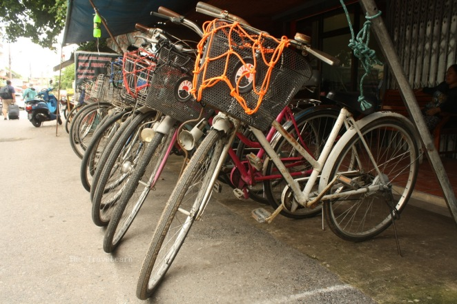 Bike rental in Ayutthaya