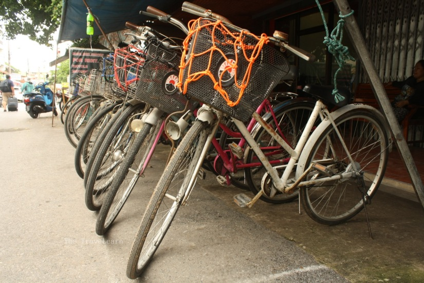Bike rental in Ayutthaya