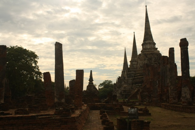 Wat Phra Si Sanphet with its three giant chedis