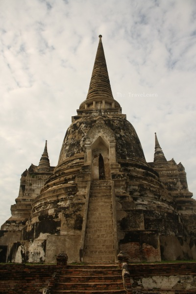 The tallest prang at Wat Phra Si Sanphet
