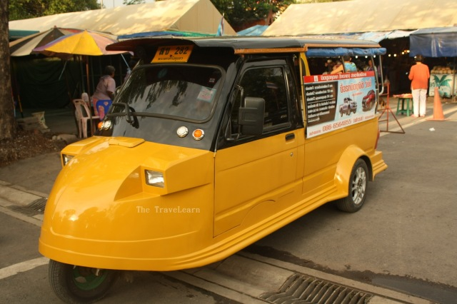 Ayutthaya tuktuks are cute!!!