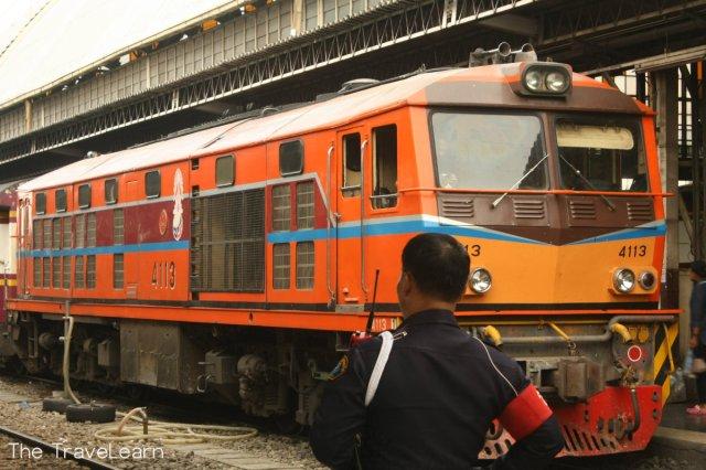 Typical Thai SRT train