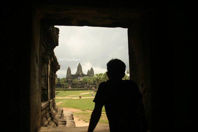 Elah, di Angkor Wat aja bisa galau