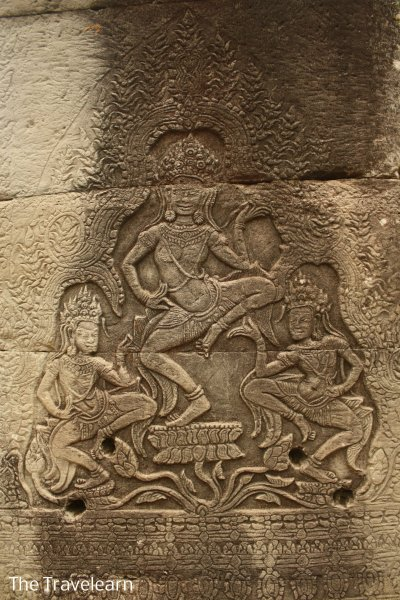 A relief at Bayon Temple